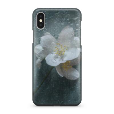 Чехол для iPhone X Цветок жасмина