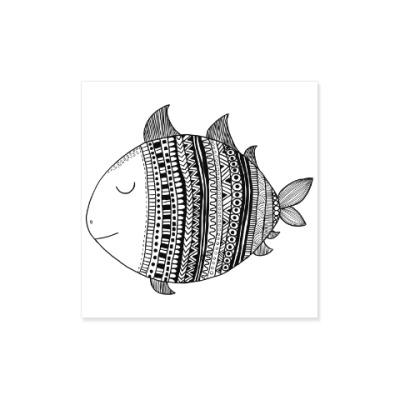 Виниловые наклейки Рыба моя