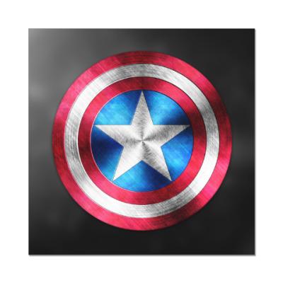 Наклейка (стикер) Captain America