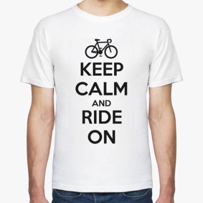 Футболка Keep Calm and Ride on
