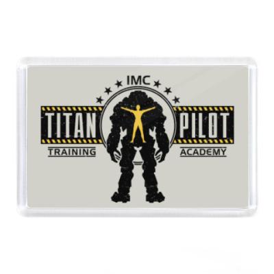 Магнит Battlefield Titan Pilot