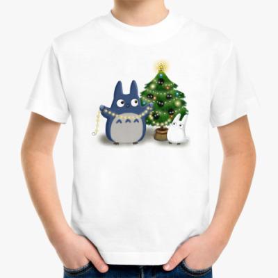 Детская футболка Ёлочка Тоторо