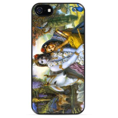Чехол для iPhone Radha Krishna