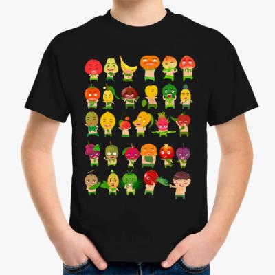 Детская футболка Фрукты, Овощи и Ягоды
