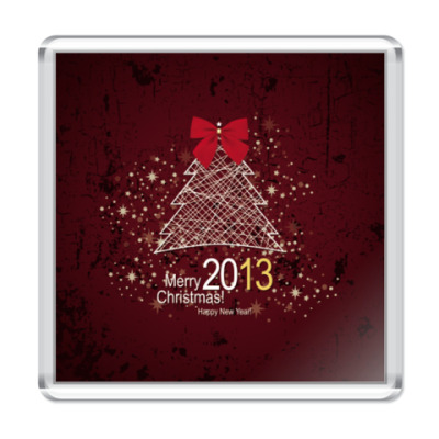 Магнит С Новым 2013 годом!