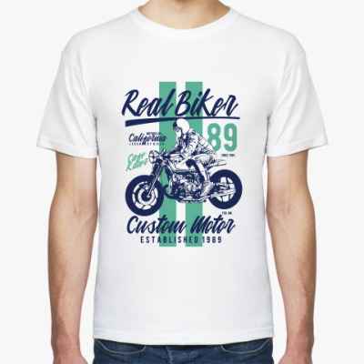 Футболка Custom Motor Real Biker
