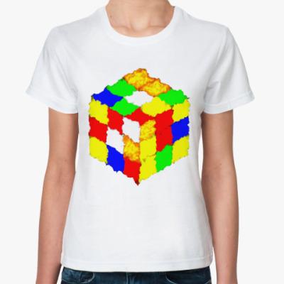 Классическая футболка Кубик Рубика