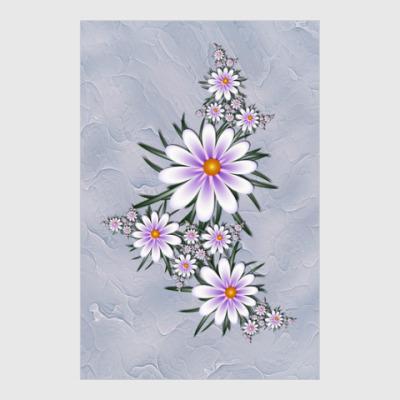 Постер Нежные цветы