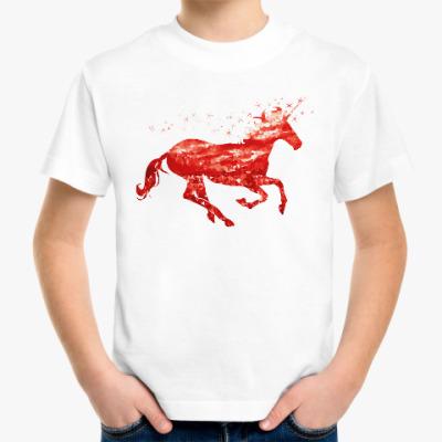 Детская футболка Рубиновый Единорог