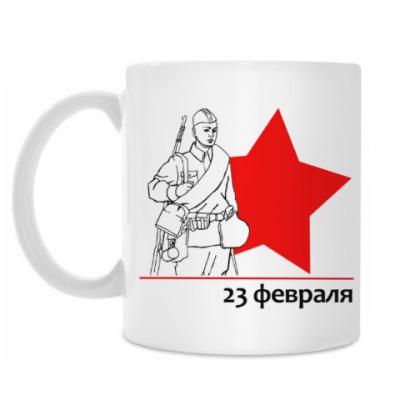 Кружка Русский солдат