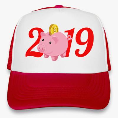 Кепка-тракер Piggy Bank 2019