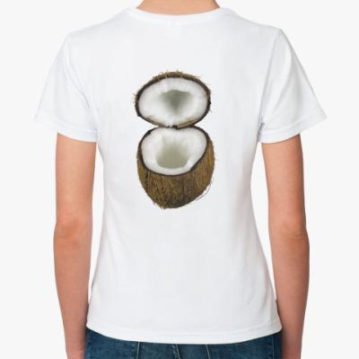 Классическая футболка  ''Coconut''