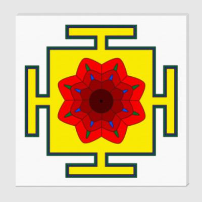 Холст Шива-янтра для медитаций