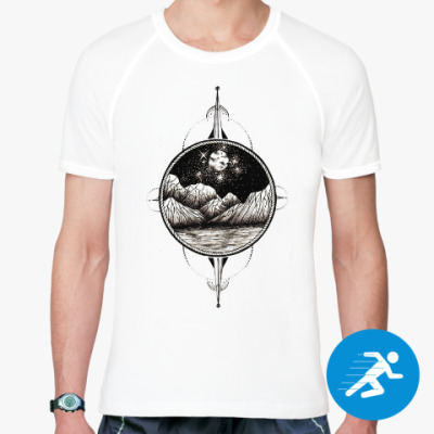 Спортивная футболка Mountains