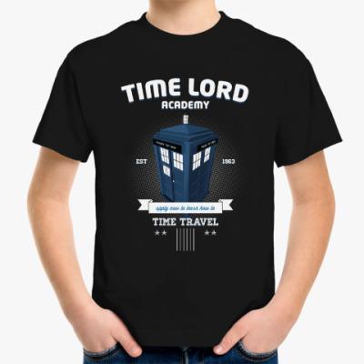 Детская футболка Повелитель времени