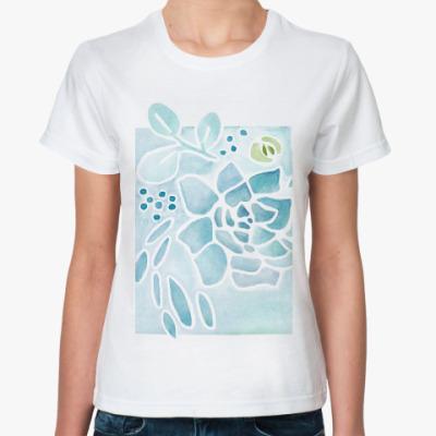 Классическая футболка Ботаника