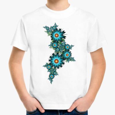 Детская футболка Цветы