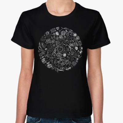 Женская футболка Этно-стиль