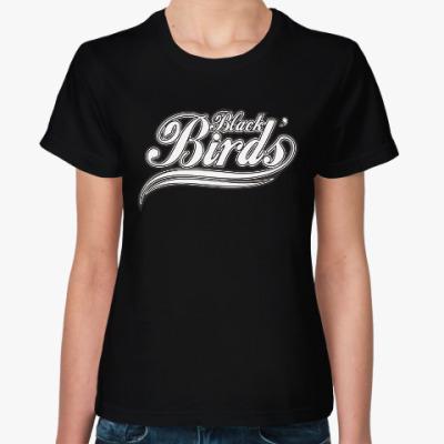 Женская футболка Black Birds