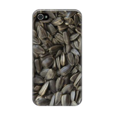 Чехол для iPhone 4/4s Семечки