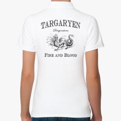 Женская рубашка поло Targaryen