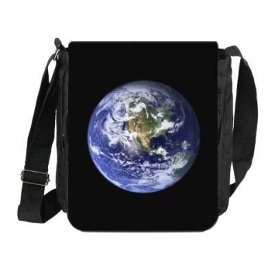 Сумка на плечо (мини-планшет) Земля