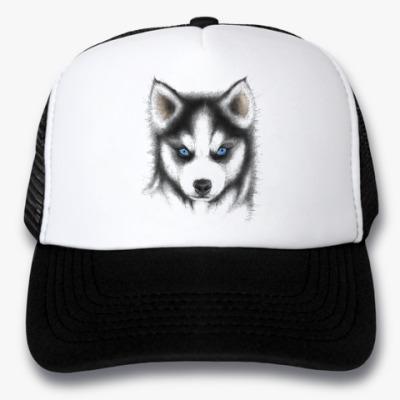 Кепка-тракер Сибирский хаски Siberian husky