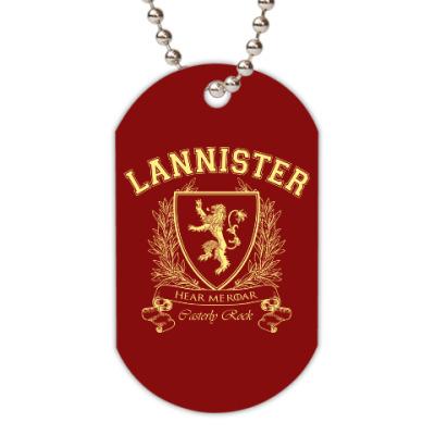 Жетон dog-tag House Lannister