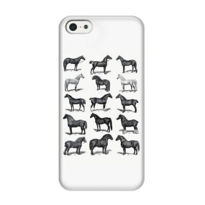 Чехол для iPhone 5/5s Лошади