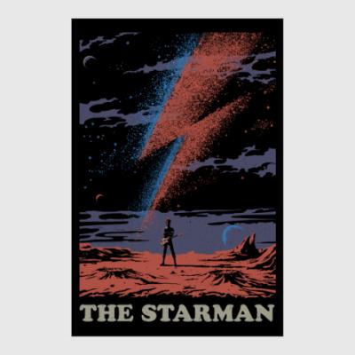 Постер David Bowie Starman Дэвид Боуи
