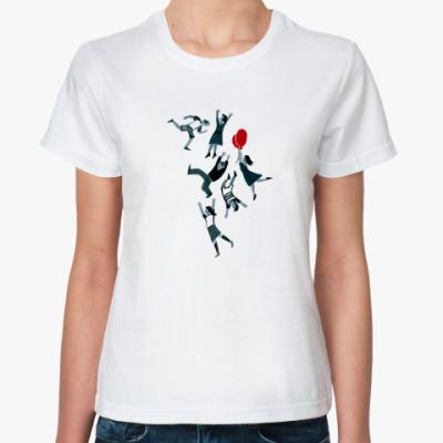 Классическая футболка Падающие люди