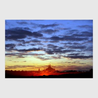 Постер Мираж на закате