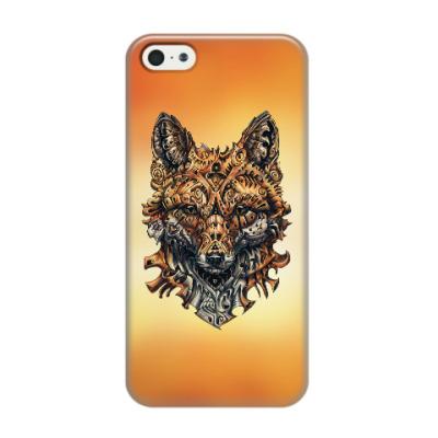Чехол для iPhone 5/5s Mechanical Fox