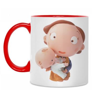 Кружка Мама с ребёнком