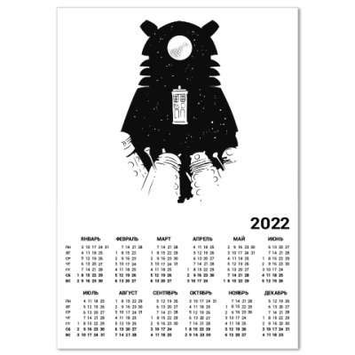Календарь Доктор Кто