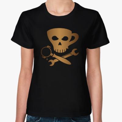 Женская футболка Бариста