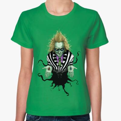 Женская футболка Битлджус