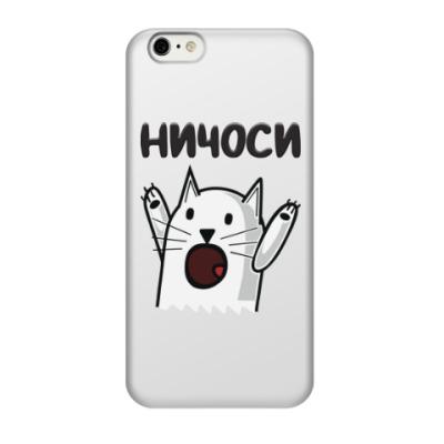Чехол для iPhone 6/6s Ничоси Кот