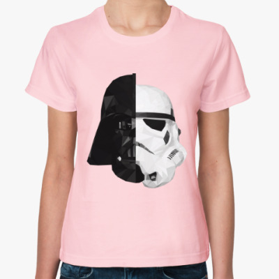 Женская футболка Star Wars: Вейдер и Штурмовик