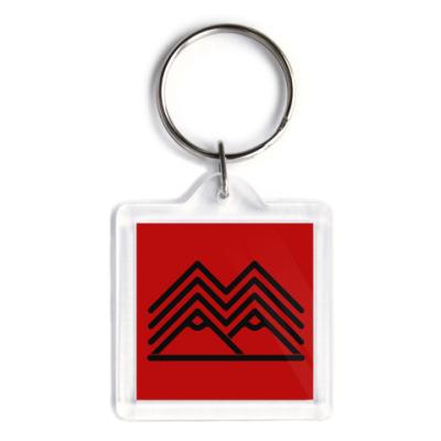 Брелок Символ Твин Пикс Twin Peaks