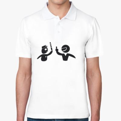 Рубашка поло ГИБДД и водитель