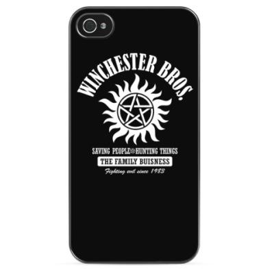 Чехол для iPhone Winchester Brothers