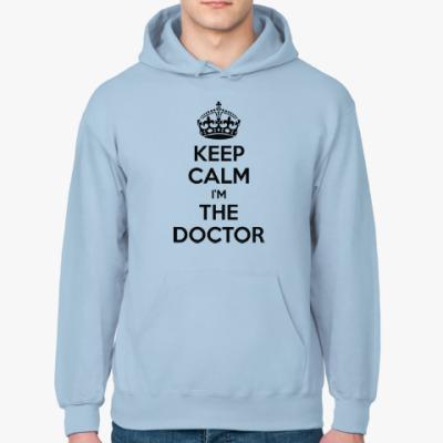 Толстовка худи KEEP CALM i'm THE DOCTOR