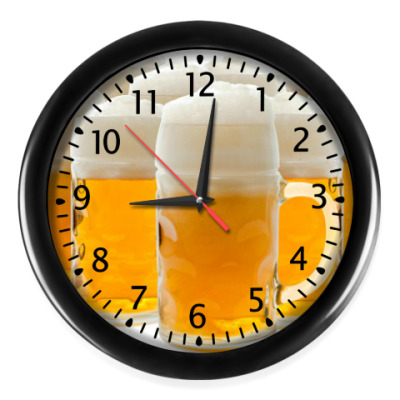 Настенные часы БОКАЛЫ ПИВА