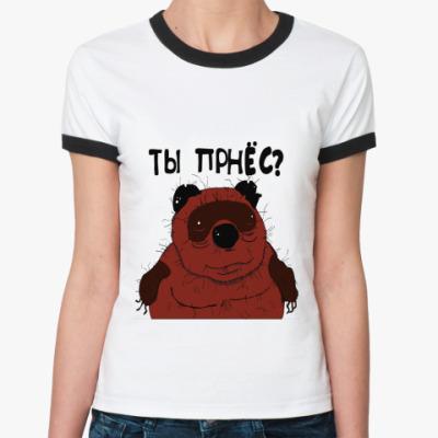Женская футболка Ringer-T Вонии