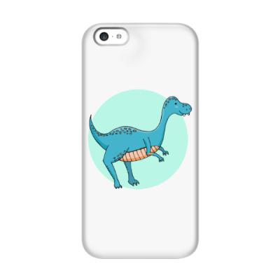 Чехол для iPhone 5c Динозаврик
