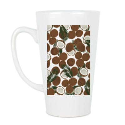 Чашка Латте Кокосы