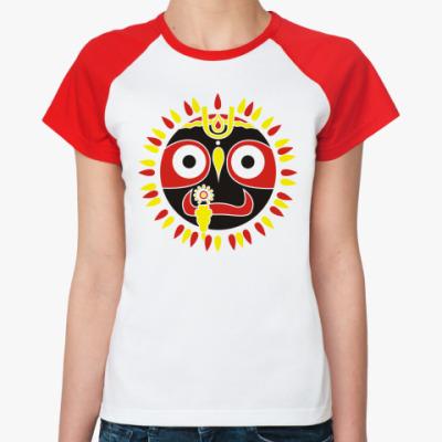 Женская футболка реглан Джаганнатха