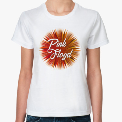 Классическая футболка Pink Floyd