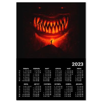 Календарь Монстр